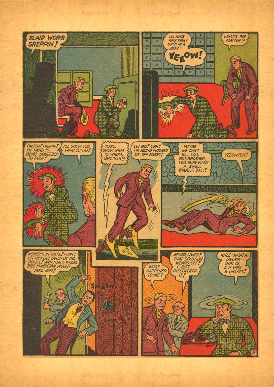 Read online Action Comics (1938) comic -  Issue #50 - 72