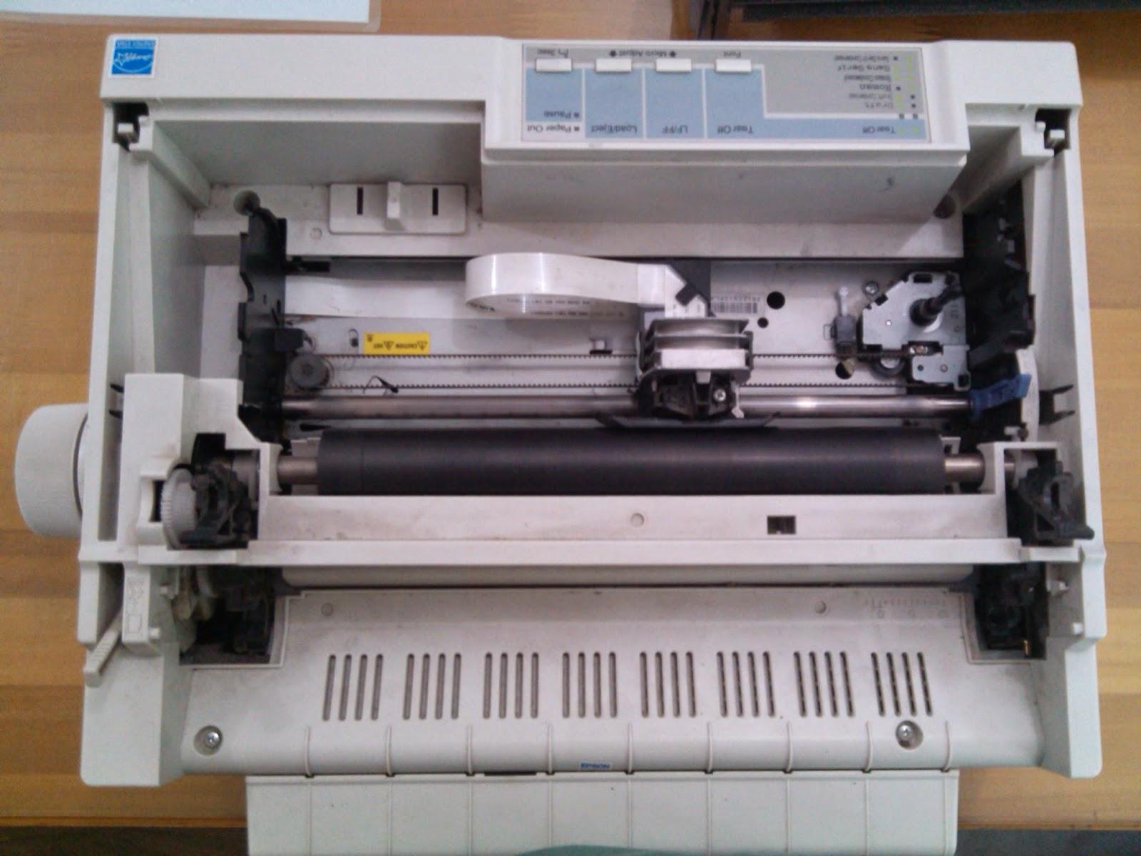 Membongkar Printer Lx300 Lx310 Karena Tidak Mau Narik Kertas Sagari Chan
