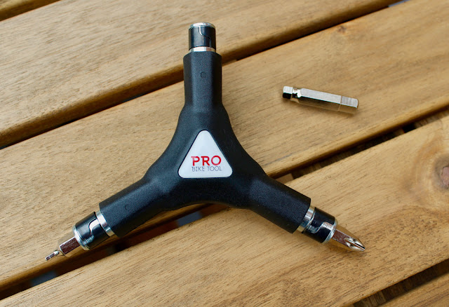Review - Pro Bike Tool 6-in-1 Interchangeable Y-Wrench