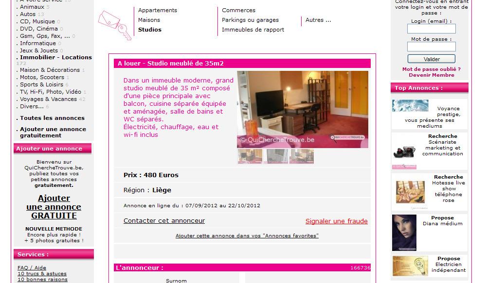 gro es studio m bliert von 34 m schaffhauserstrasse 550 8052. Black Bedroom Furniture Sets. Home Design Ideas