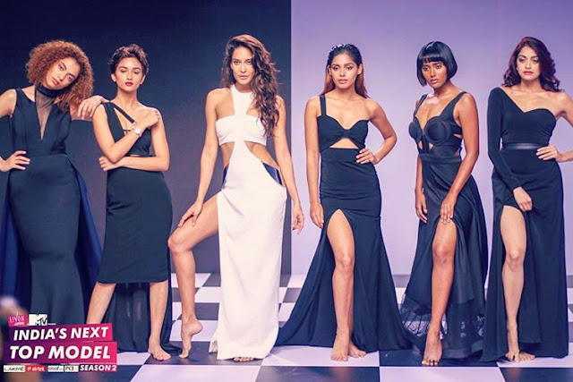 Lisa Haydon In India's Next Top Model Collection
