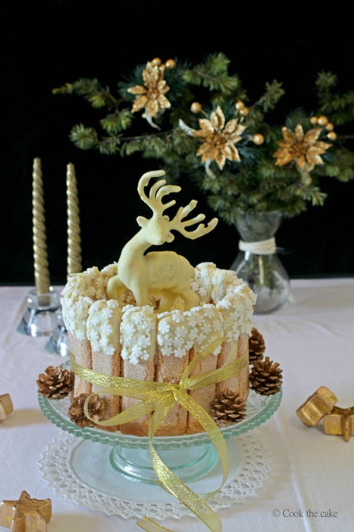 coffee-cheesecake, christmas-charlotte, pastel-de-queso-de-navidad