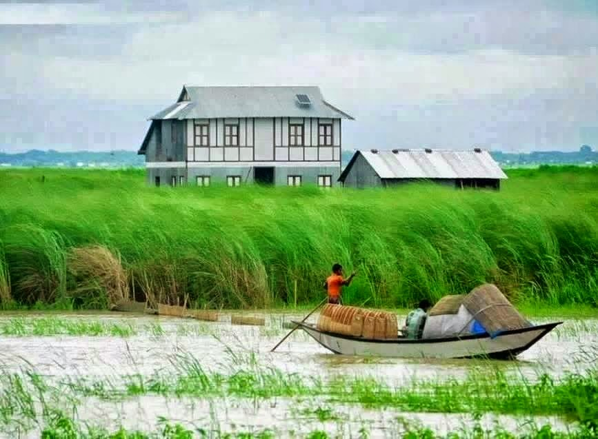 EXCEL TUNE 24: Bangladesh Village Wallpaper
