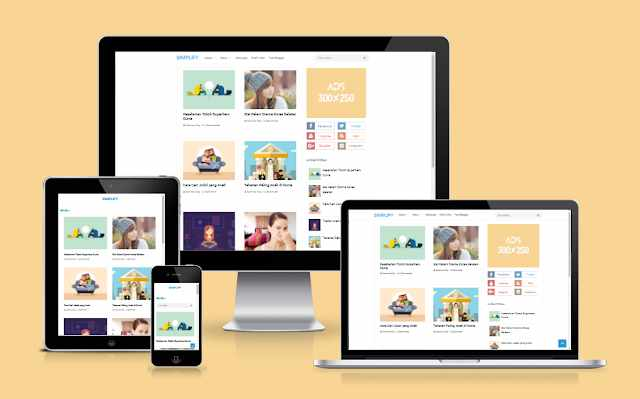 Download Simplify 2 Redesign by Blogger Funda