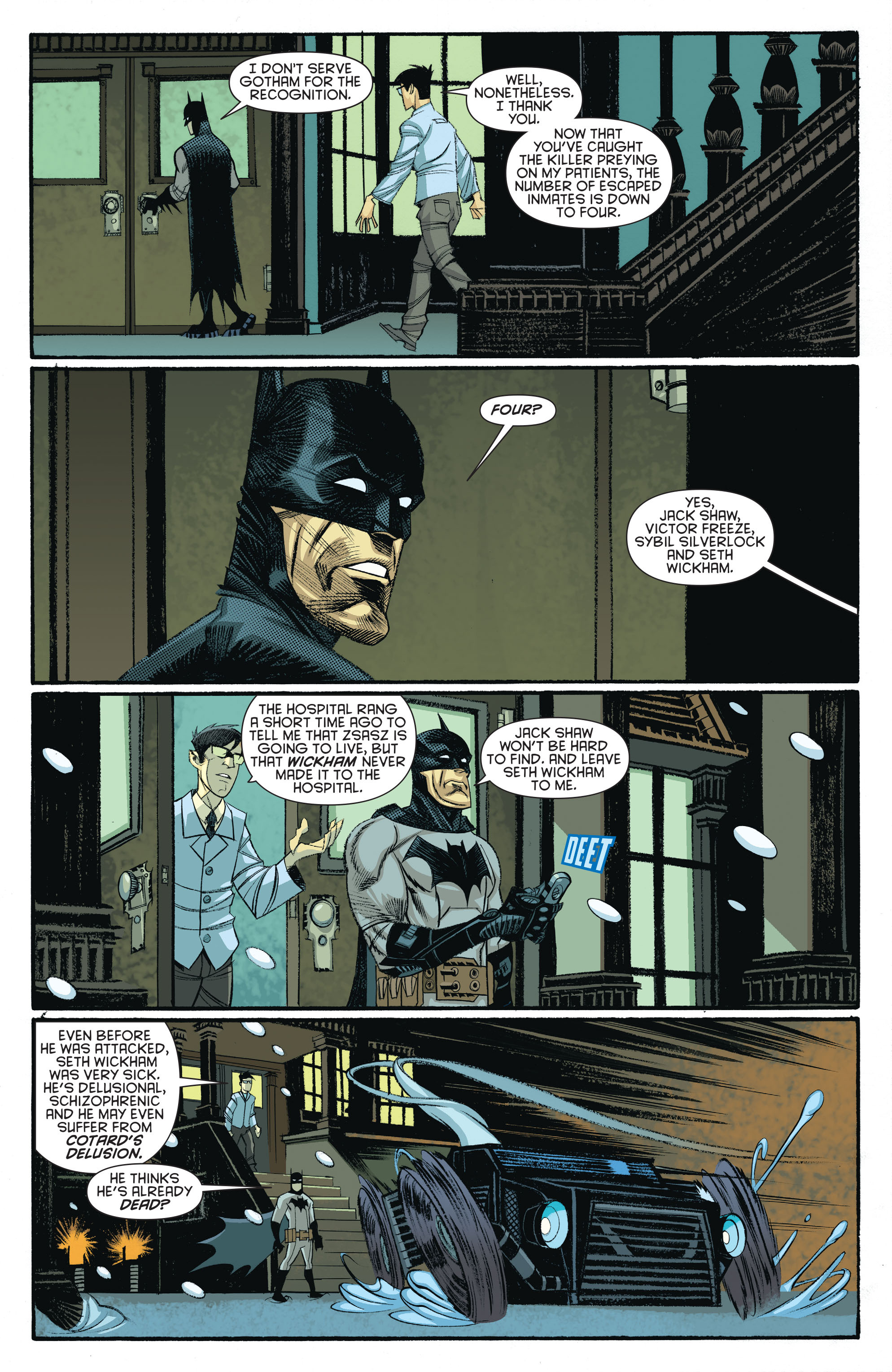 Read online Arkham Manor comic -  Issue #5 - 15