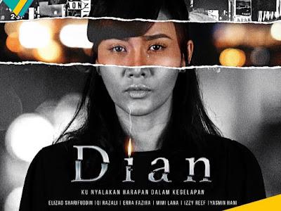 Sinopsis dan Senarai Pelakon Drama Dian