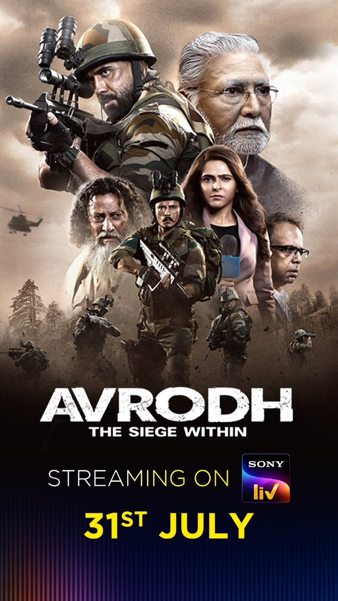 Avrodh the Siege Within S01 Complete 2020 Hindi 720p HDRip Full Download