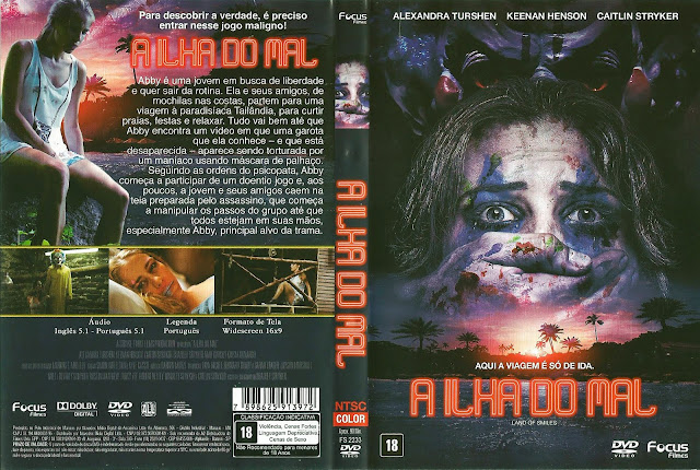 Capa DVD A Ilha do Mal