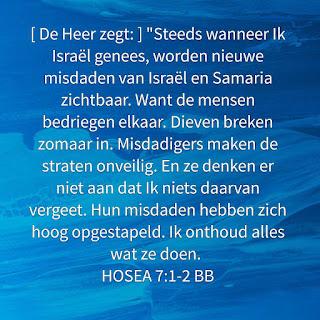 Leef je geloof, Hillie Snoeijer: Hosea 7:1,2