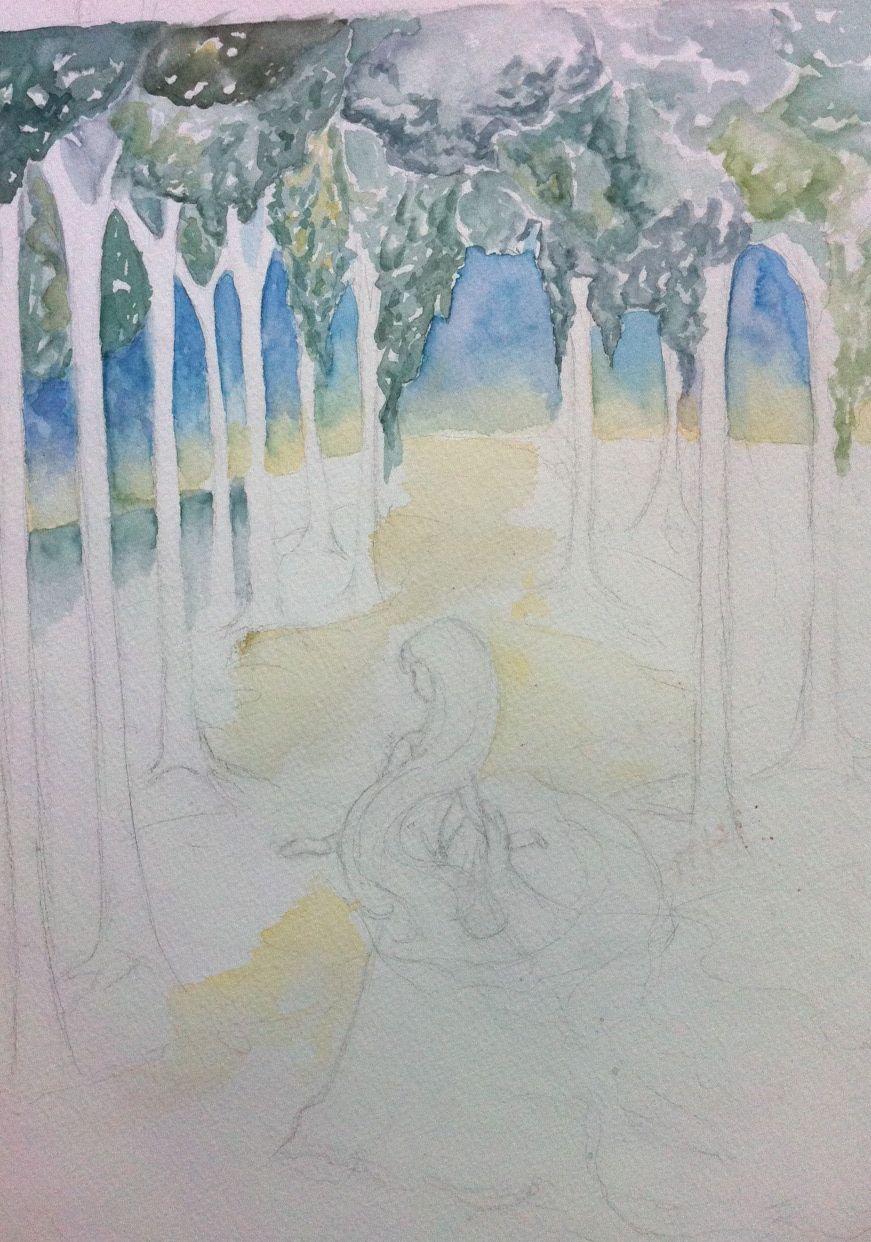 Darkling Woods Studio: Water Color Tutorial