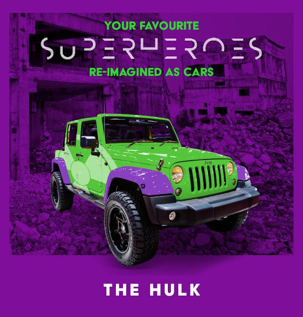 The Hulk - Jeep Wrangler
