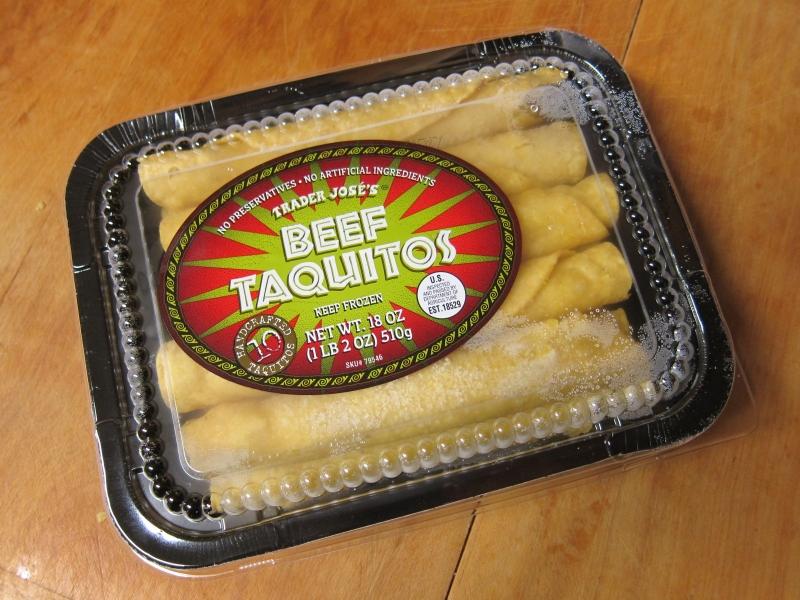 Frozen Friday Trader Joe S Beef Taquitos Brand Eating