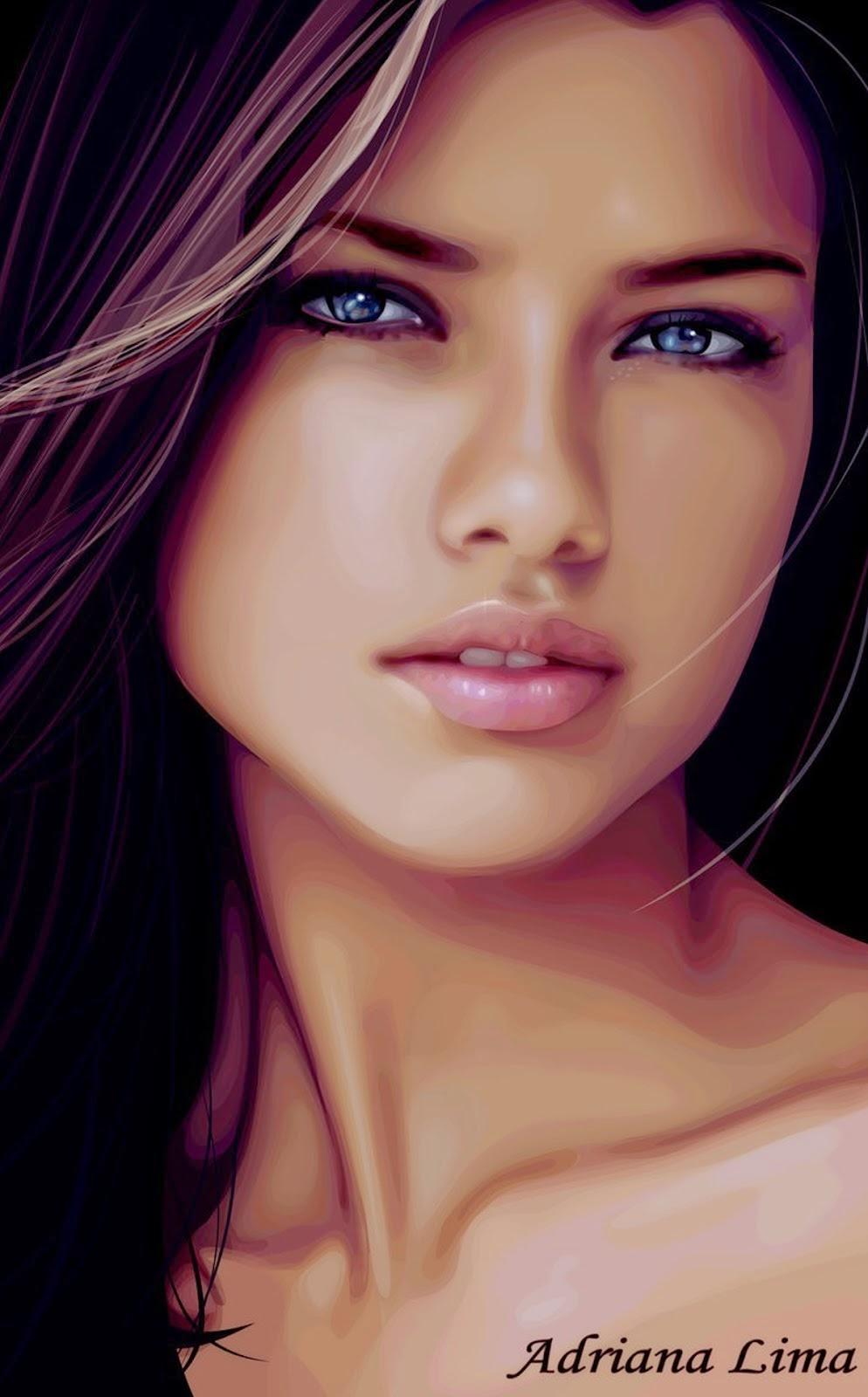 Adriana Lima Age >> Billboard USA | Music News: ADRIANA LIMA PORTRAIT CLOSE UP