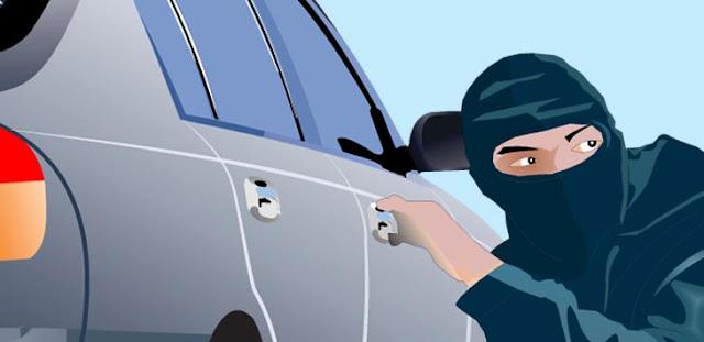 Mobil Anggota Polrestabes Makassar Dibawa Lari Tahanan Narkoba