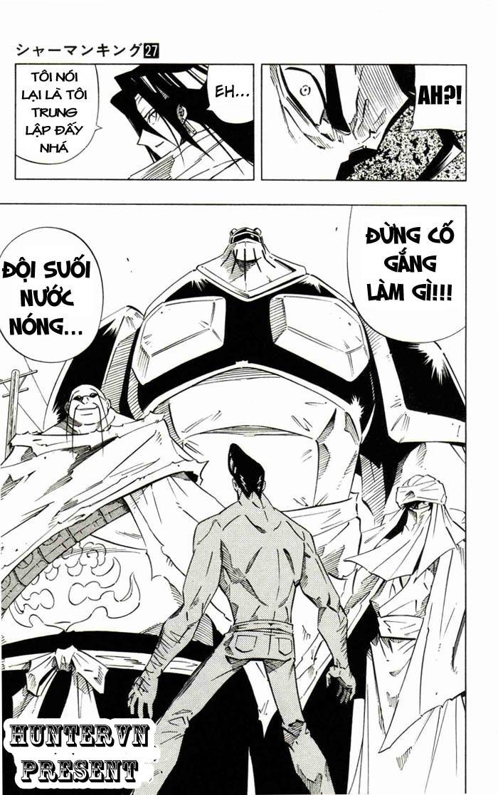 Shaman King [Vua pháp thuật] chap 239 trang 18