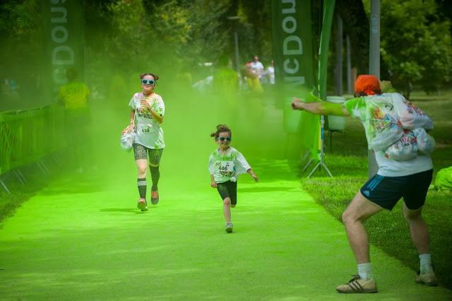 la happy color run une course familiale par woody beauty