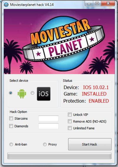 moviestarplanet hack gratuit