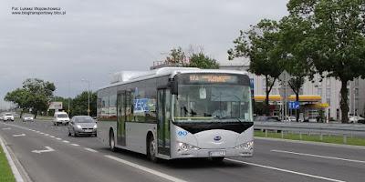 BYD K9 na testach w Krakowie