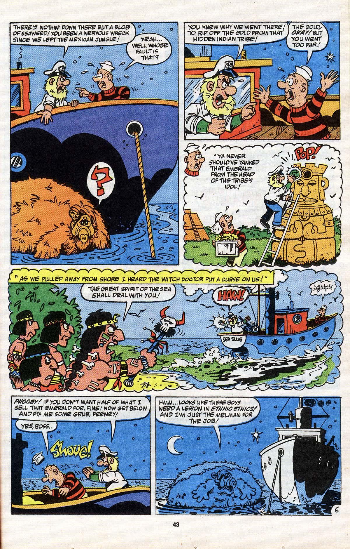 Read online ALF comic -  Issue # _Annual 3 - 39