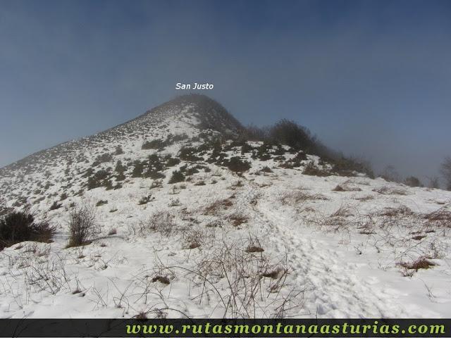 Nieve en el San Justo