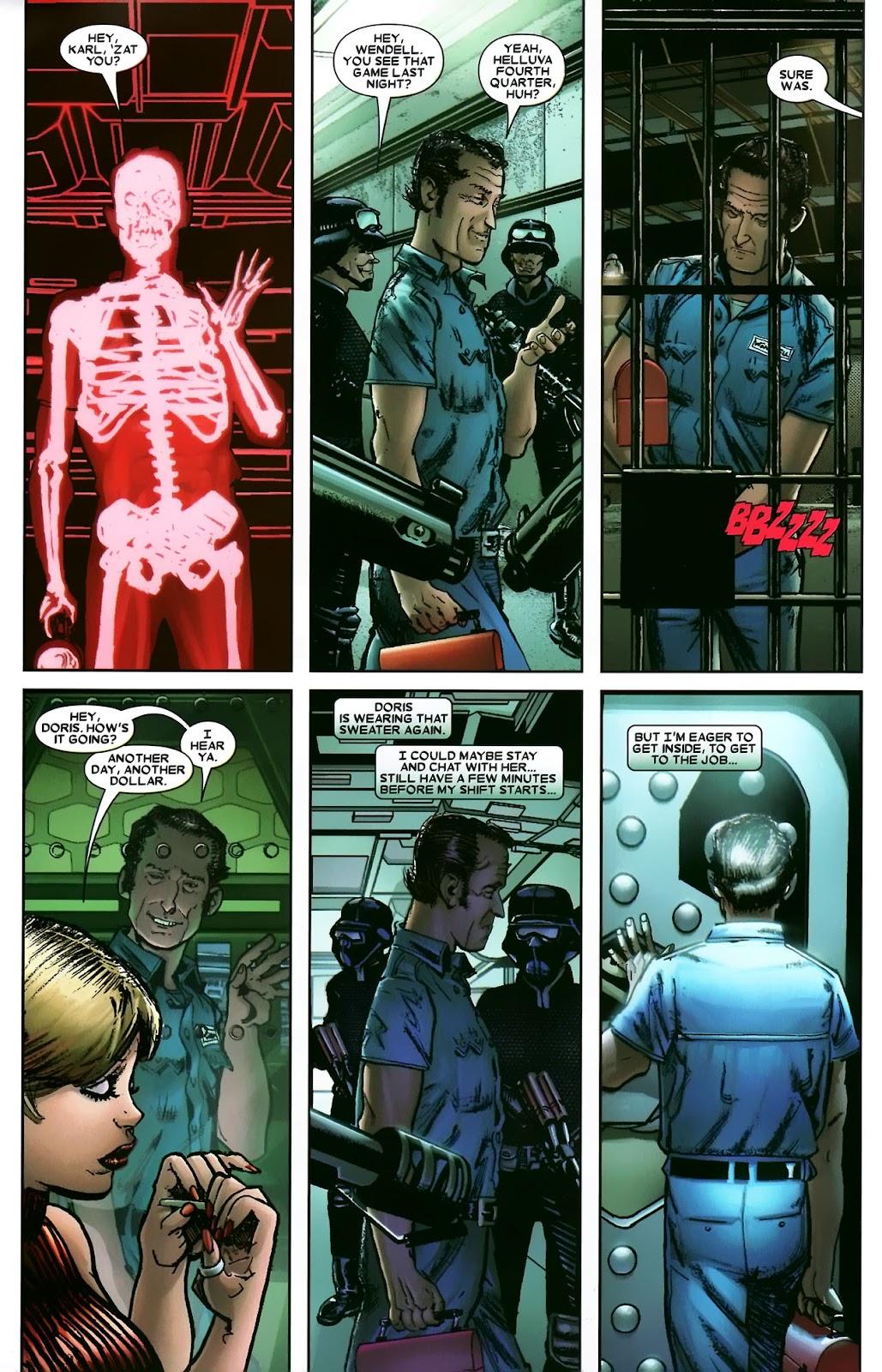Read online Wolverine (2003) comic -  Issue #56 - 5
