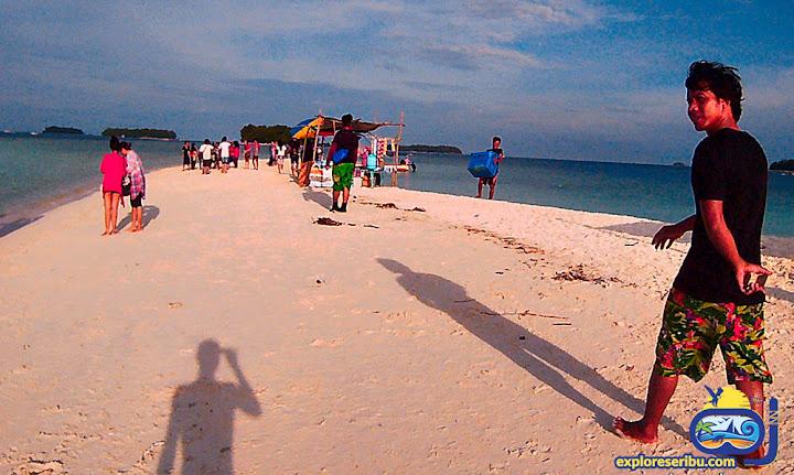 pulau gosong perak - wisata pulau harapan