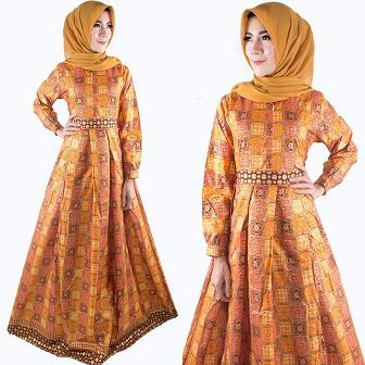 Tips Memilih Model Batik Gamis Untuk Muslimah Bertubuh Gemuk