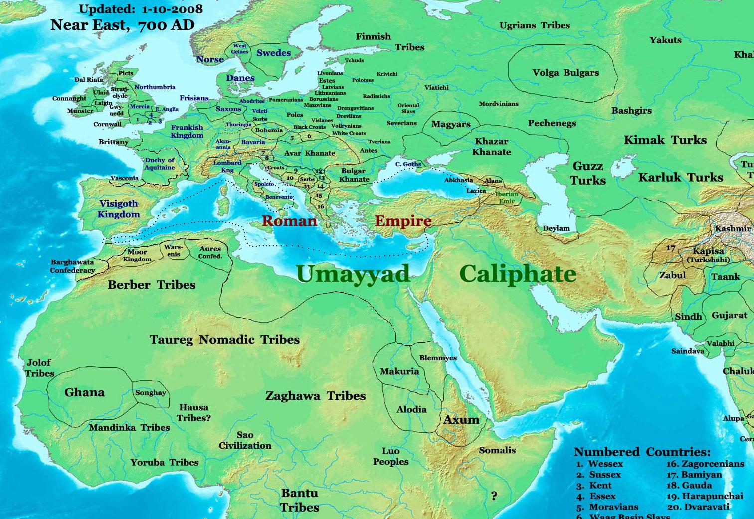 Download ePub PDF eBook » map eastern world