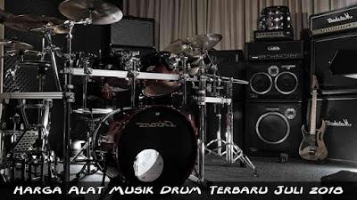 Harga Alat Musik Drum Terbaru Juli 2018