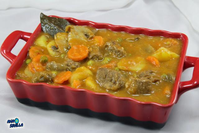 Ternera a la jardinera Ana Sevilla cocina tradicional