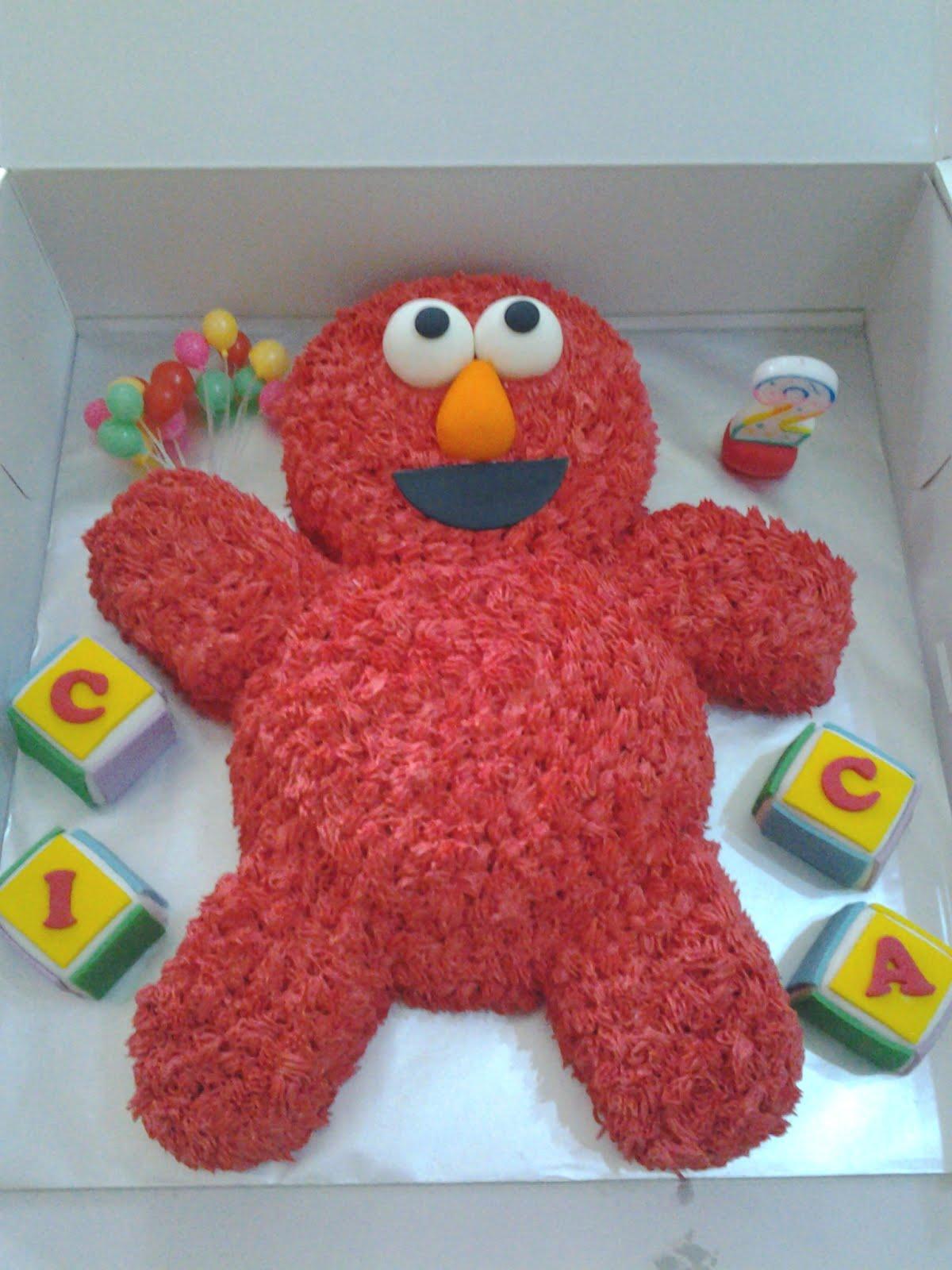 Yummy Cuppy Cakes 3d Elmo Cake
