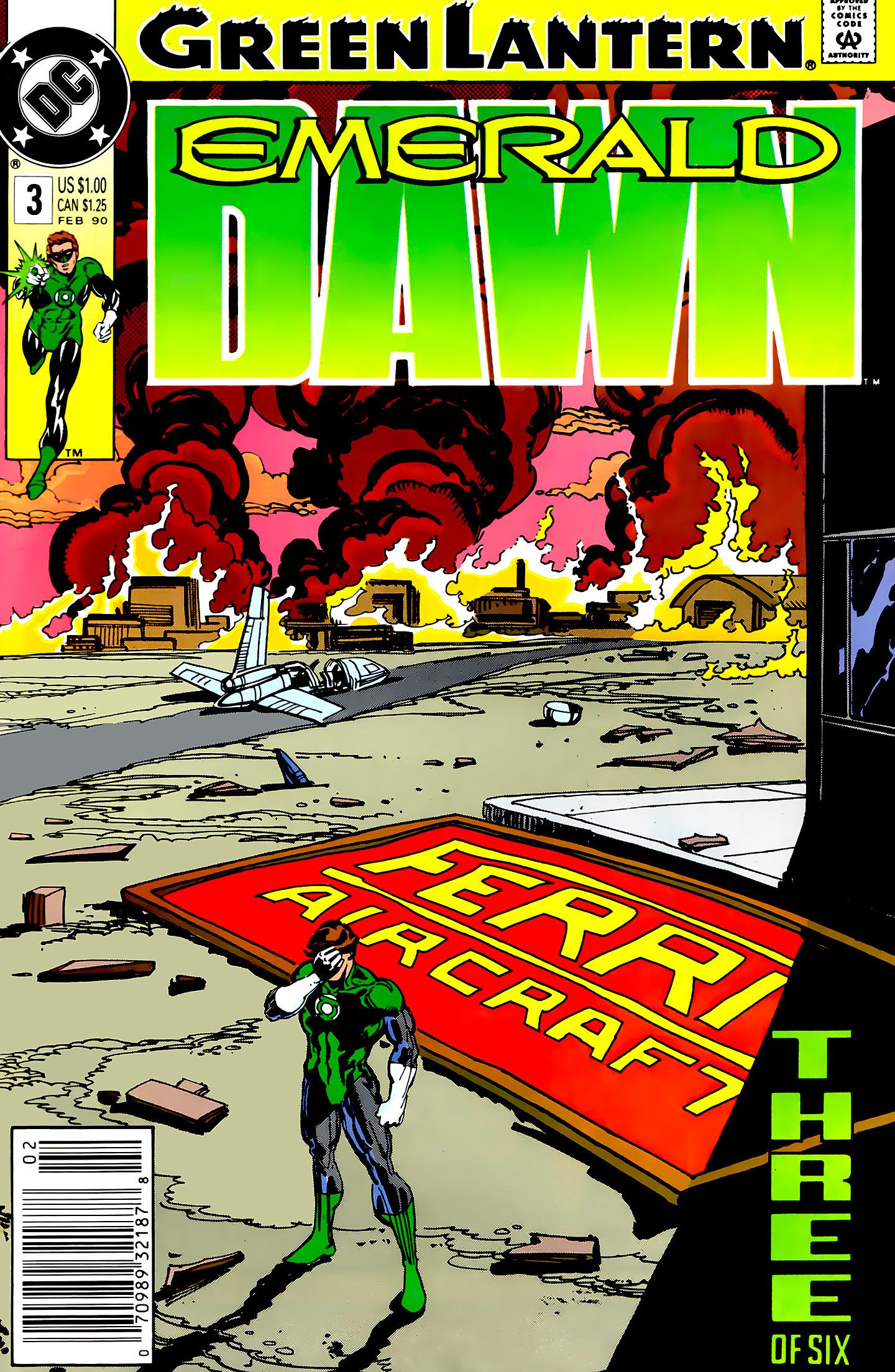 Green Lantern: Emerald Dawn 3 Page 1