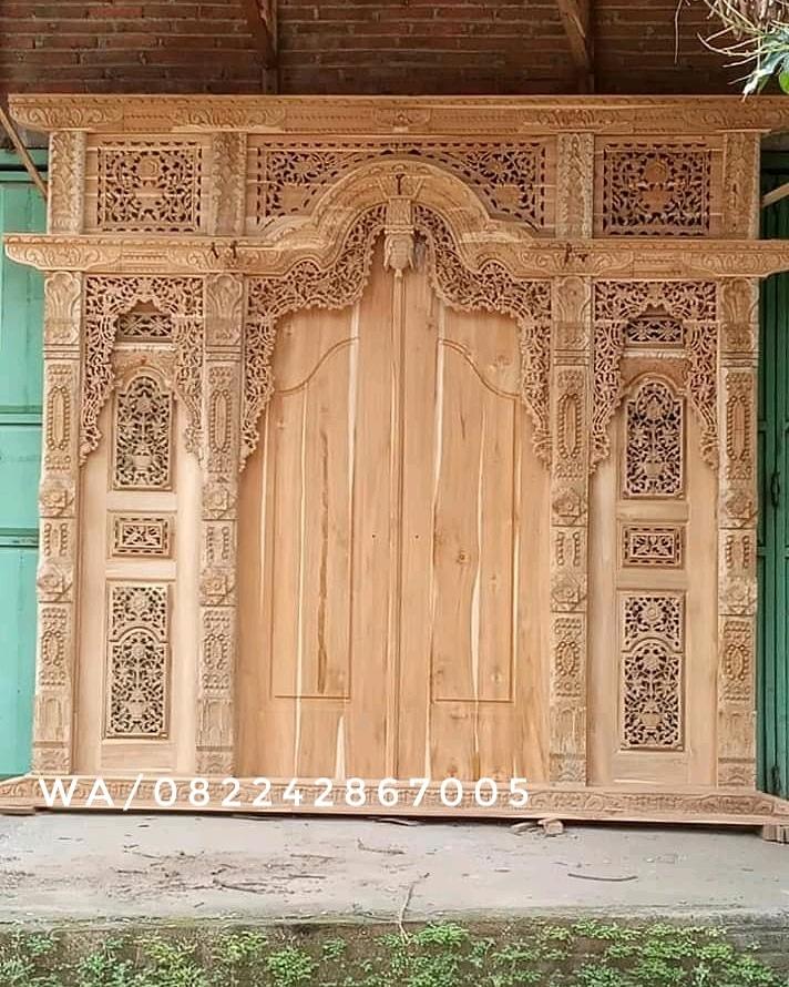 Jual Gebyok Ukir Jepara Arief Jati Furniture