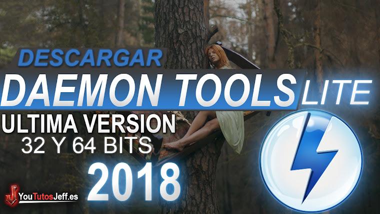 Como Descargar Daemon Tools Lite 10 Ultima Versión 2018 Español - 32 y 64 Bits