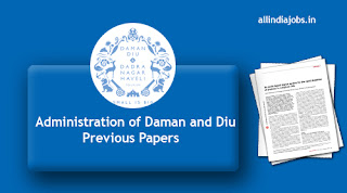 Administration of Daman and Diu Police Constable Previous Papers