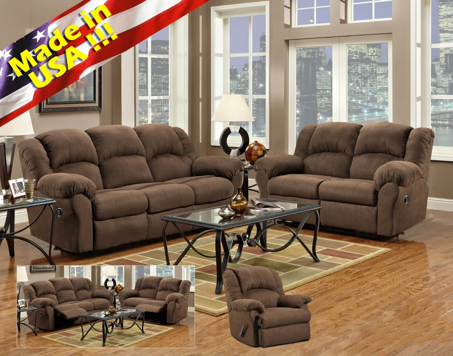 The Best Home Furnishings Reclining Sofa Reviews Microfiber Reclining Sofa Furniture