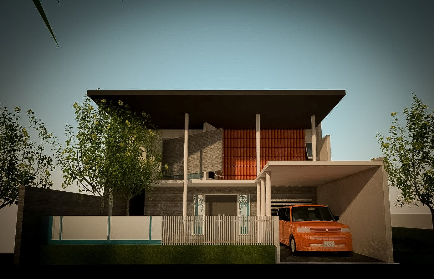 Minimalist And Modern House Design For A Muslim