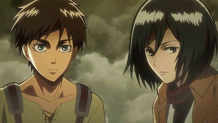 Relasi Antara Eren dan Mikasa