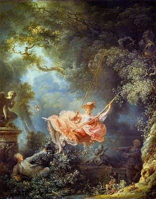 Fragonards the swing is exemplary of the frivolity of this late 18th-century style: