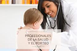 Profesionales de la salud y el Porteo