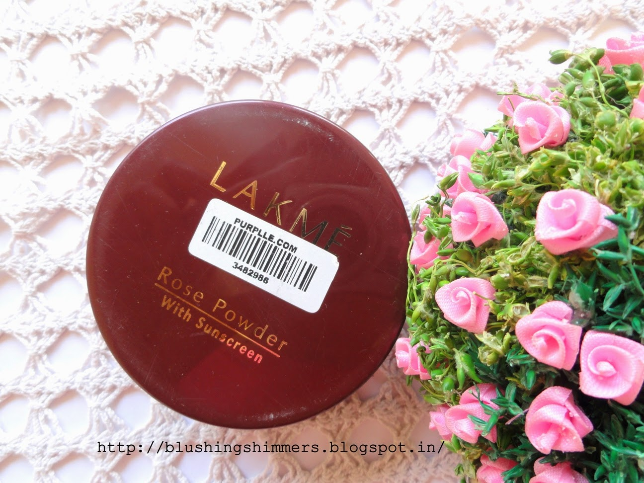 Lakme Rose Powder - Warm Pink