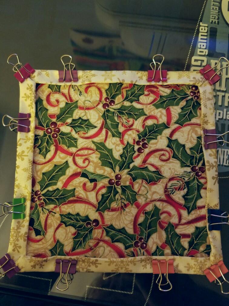 Fold'n Stitch Wreath Shortcut Tutorial Amazing Fold And Stitch Wreath Pattern