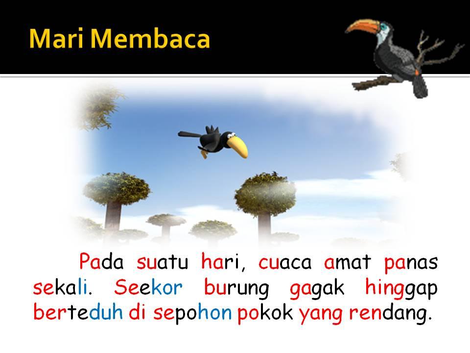 Bahasa Malaysia Tahap Satu: Burung Gagak yang Bijak