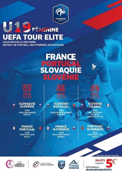 Féminine U19 UEFA Tour Elite Pays Basque 2019