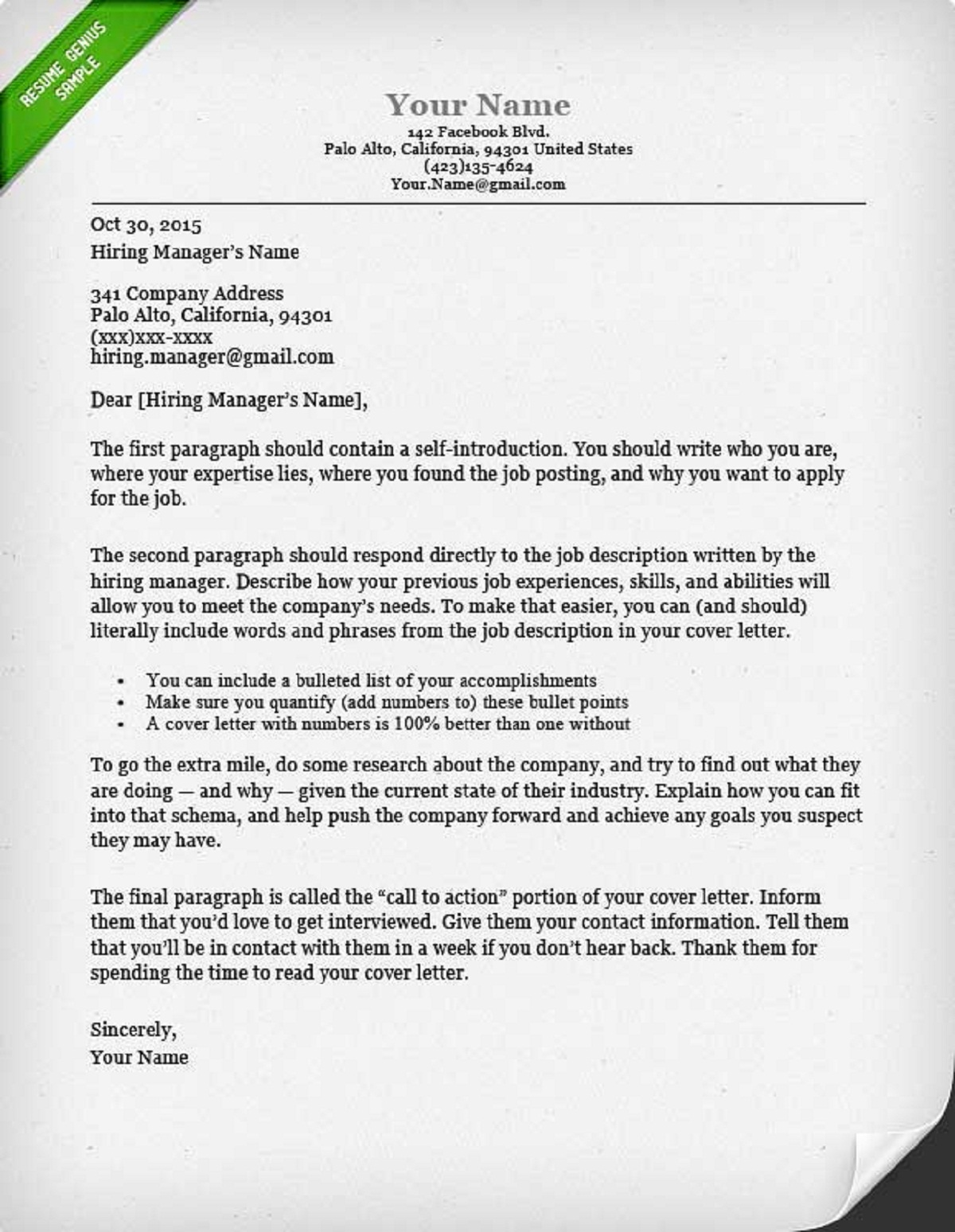 How to write a cover letter guide with sample how can done for How to wrie a cover letter