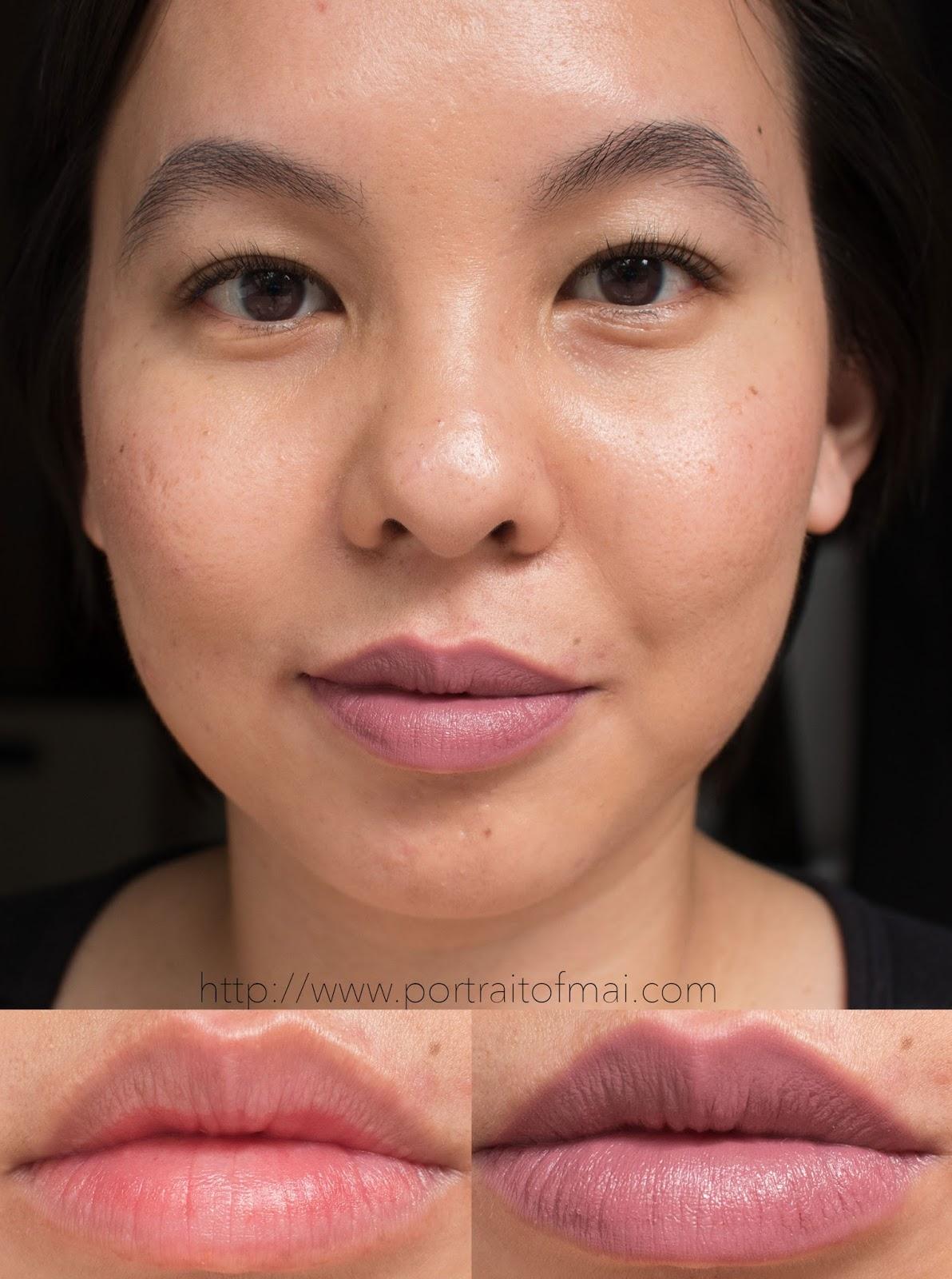 Makeup Geek Plush Creme in Shy Swatch