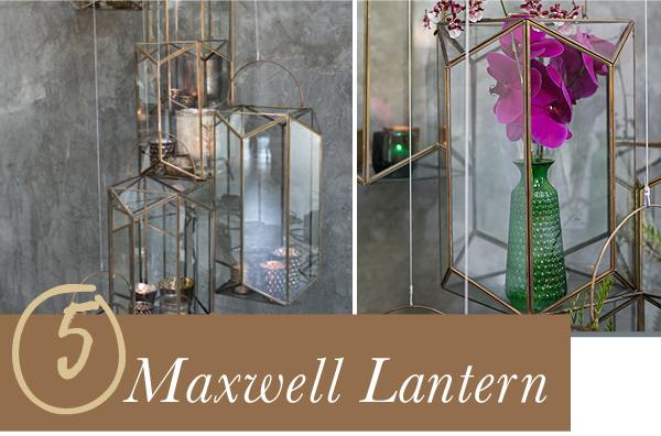 Accent Decor Bestseller: Maxwell Lantern