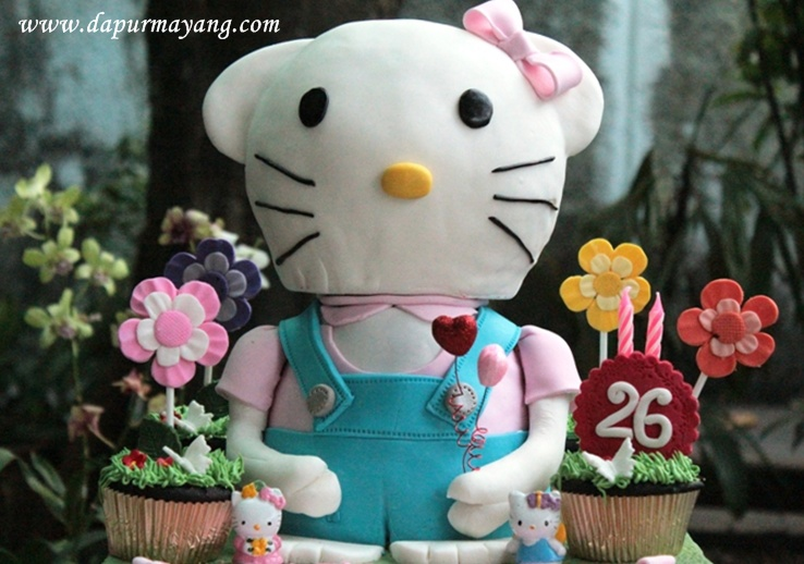 Order Kue Online Adiel Cakes By Dapur Mayang Hello Kitty