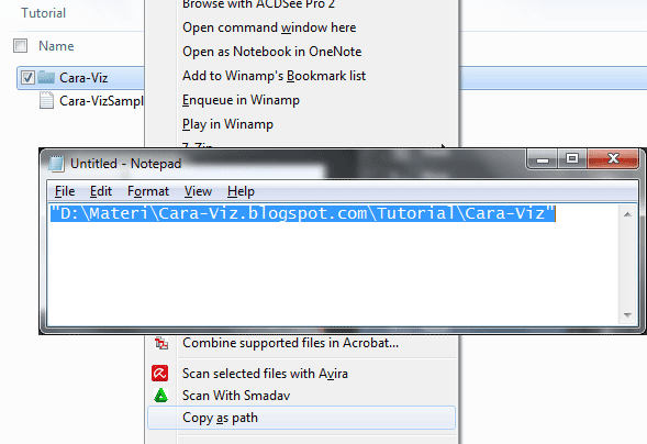 Cara Merubah File Attributes Menggunakan Command Prompt