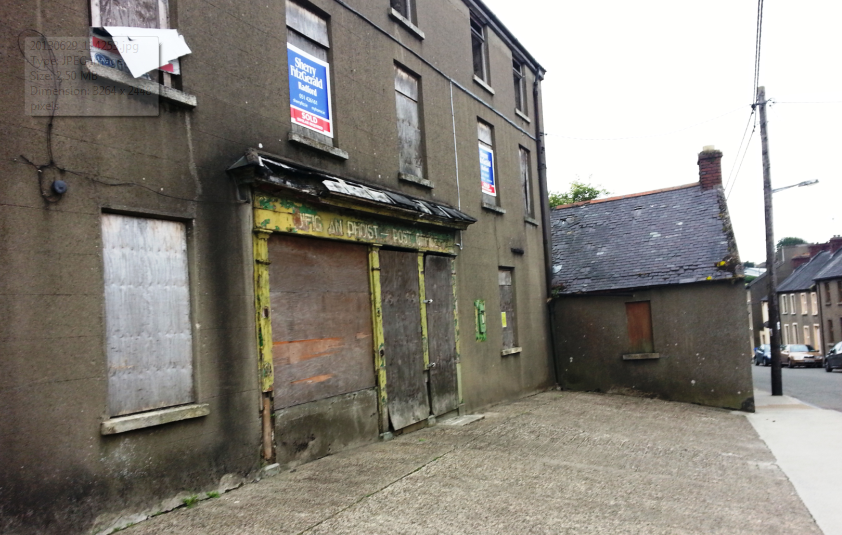 Abandoned post office, irishtown, new ross